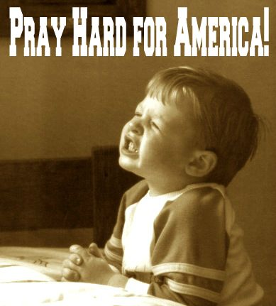PIN IF YOU ARE! Please Pray for America Everyday! (less than 1 min/day) http://www.thepoweroftherosary.com/pray-for-america.html