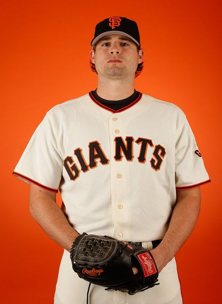 Pitcher Cody Hall #59 of the San Francisco Giants poses for a portrait during spring training photo day at Scottsdale Stadium on February 27, 2015 in Scottsdale, Arizona. (February 26, 2015 - Source: Christian Petersen/Getty Images North America)