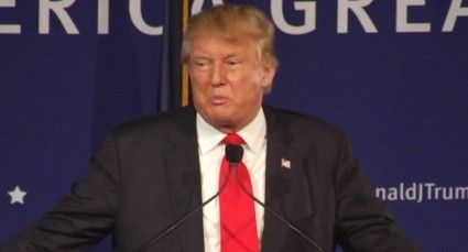 """Donald Trump is surging in the polls. The latest numbers from a CBS News poll show him climbing, with 35 percent support among Republican voters. In second place is Ted Cruz, far behind with 16 percent. Trump told Bill O'Reilly he won't back down from his anti-Muslim rhetoric, despite the furor over his call to ban Muslims from entering America. O'Reilly told the Trump, """"I don't think you thought through the consequences of banning an entire religion from entering the U.S. That's my…"""
