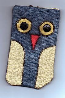 Owl mobile phone case tutorial