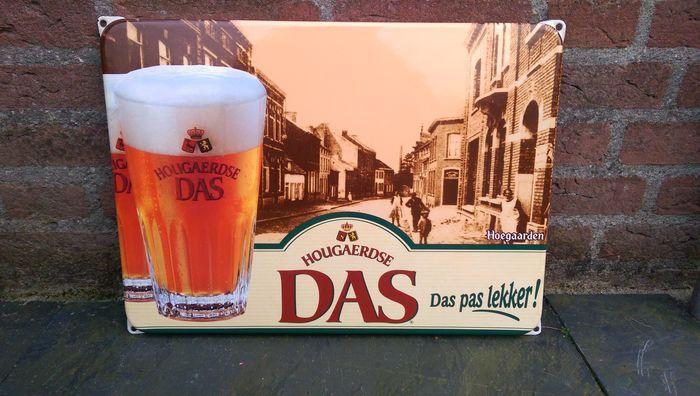 Hougaerdse DAS Beer enamel advertising sign-ca late 20th century - Catawiki