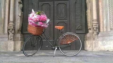 Bike on place. #bicycle #bicycleshop #oldbicycle #restoratioofbike #arsenalebici #biciclette #restaurodibici #restauro #vecchio #antico #arsenalerestauro #arsenalepiu