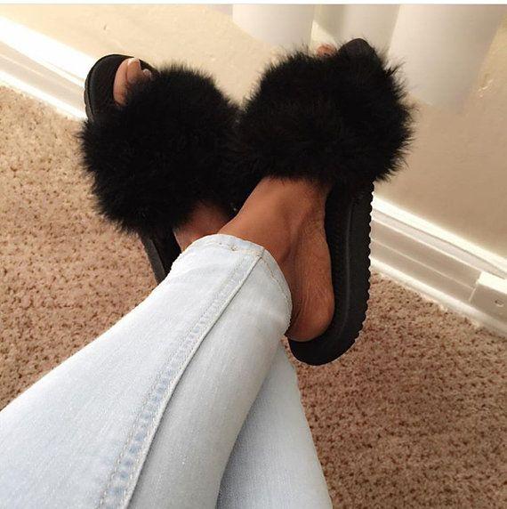 Best 20 Fur Slides Ideas On Pinterest Puma Slides