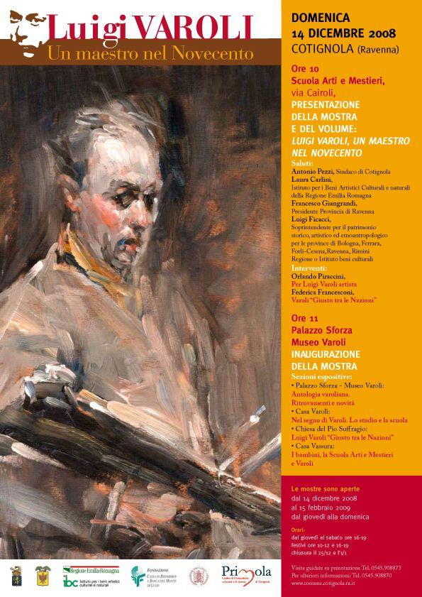 Luigi Varoli un maestro del Novecento/2008