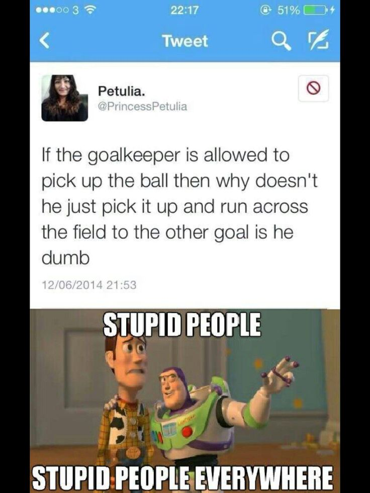 Dumbest tweet of the World Cup