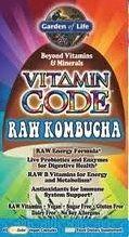 Get all the benefits of kombucha, in a capsule! Garden of Life Vitamin Code Raw Kombucha