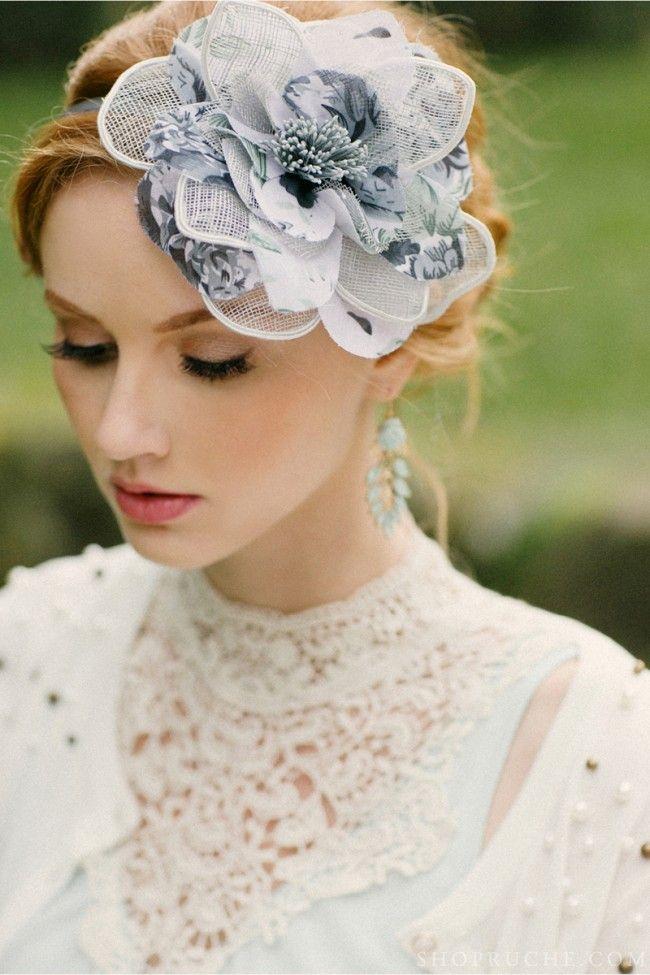 Love this floral hair piece