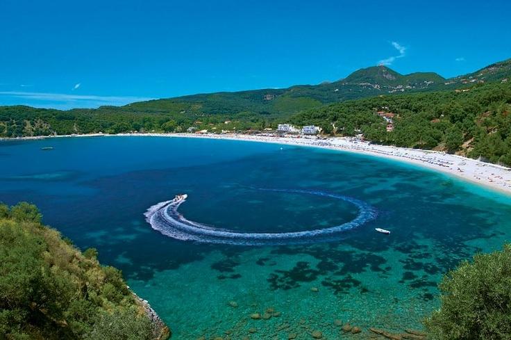 Valtos beach, Parga, Epirus, Greece