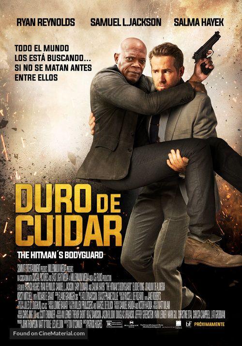 The Hitman S Bodyguard The Hitman S Bodyguard Duro De Cuidar 2017 Chilean Movie Poster Todo El Mundo Los Est The Bodyguard Movie Movie Posters Movies
