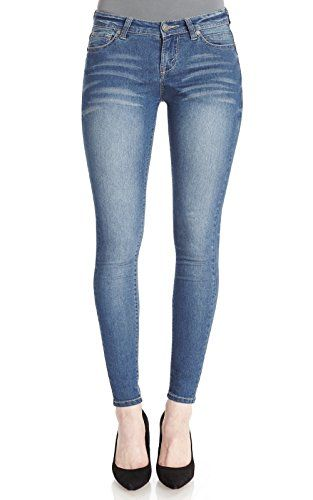 WallFlower Juniors Ultra Luxe Skinny Jeans *** For more information, visit image link.