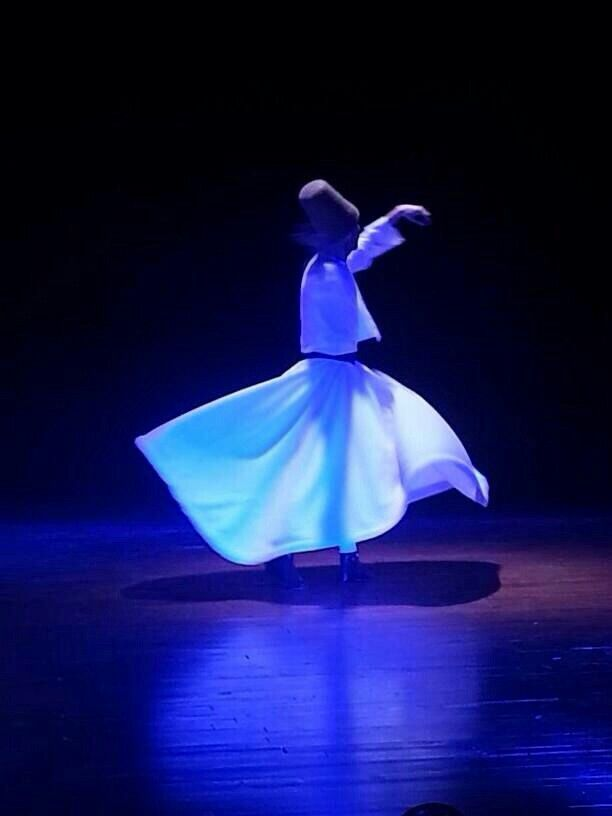 Sufi dance of turkey - sufi dancing Tolga Aktekin