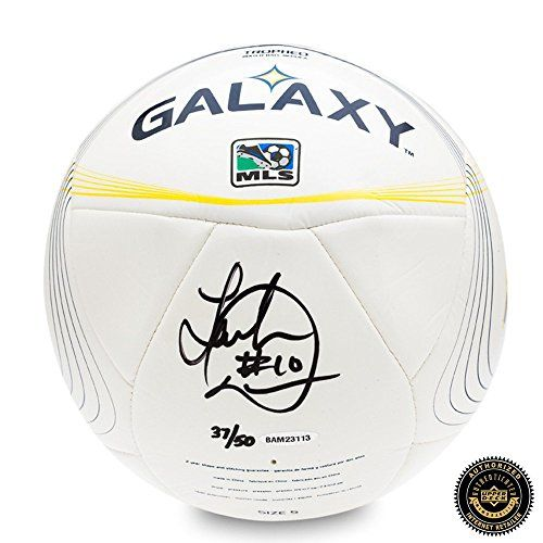 Landon Donovan Autographed/Signed LA Galaxy ADIDAS Tropheo Replica Match Soccer Ball -- For more information, visit image link.