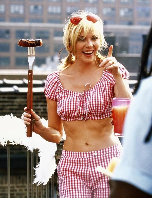 "Kim Cattrall (as Samantha Jones) in ""Sex and the City"" (TV Series)"
