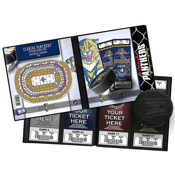 Florida Panthers Ticket Album, Multicolor