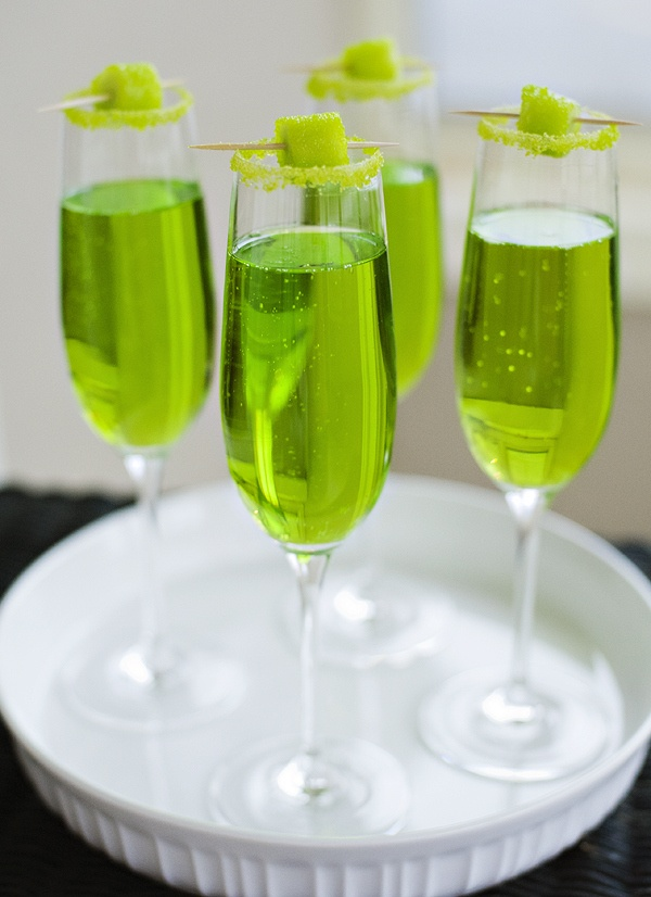 Sparkling Shamrock - perfect for St Pattys or celebration involving the color green   Pretty Plain Janes
