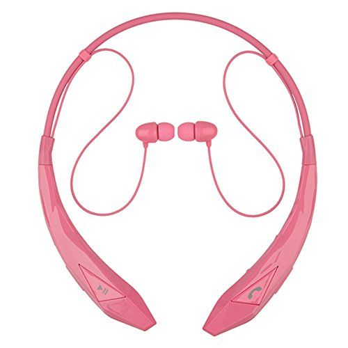 Special Offers - Tenflyer Wireless Bluetooth Stereo Music Sports Headset Neckband Headphone In-ear Earphone Handfree for Smart Phone (Pink) Review - In stock & Free Shipping. You can save more money! Check It (November 27 2016 at 04:56PM) >> http://wheadphoneusa.net/tenflyer-wireless-bluetooth-stereo-music-sports-headset-neckband-headphone-in-ear-earphone-handfree-for-smart-phone-pink-review/