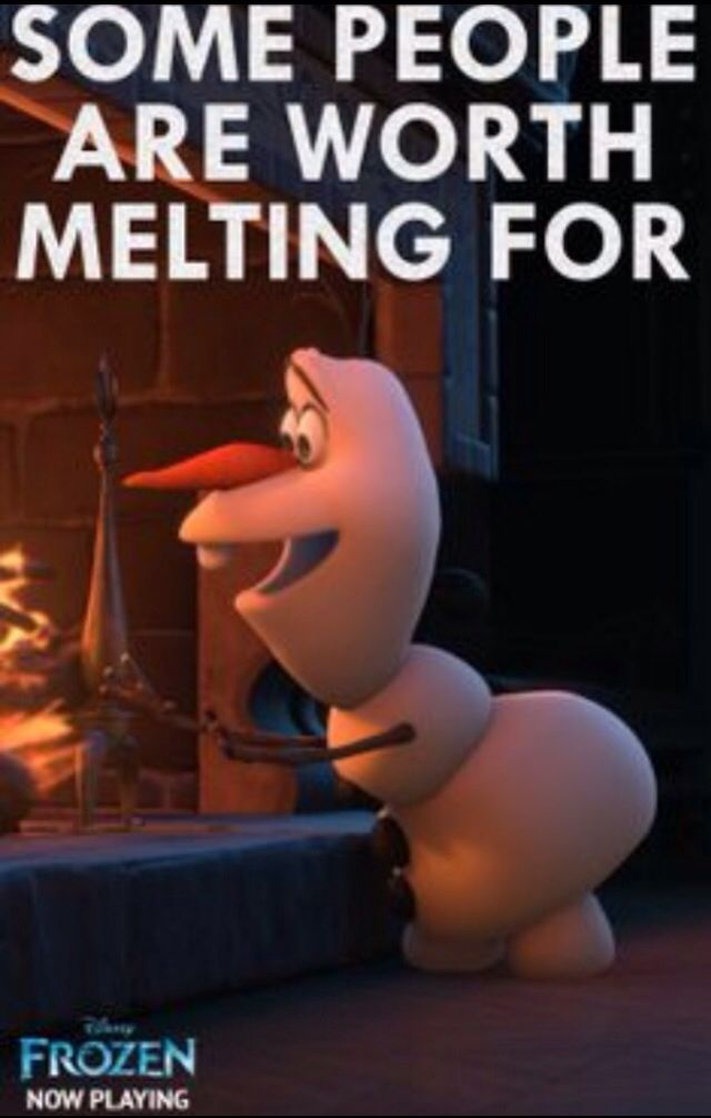 Frozen was by far the cutest movie that I have seen in a long time! Olaf melted my heart!