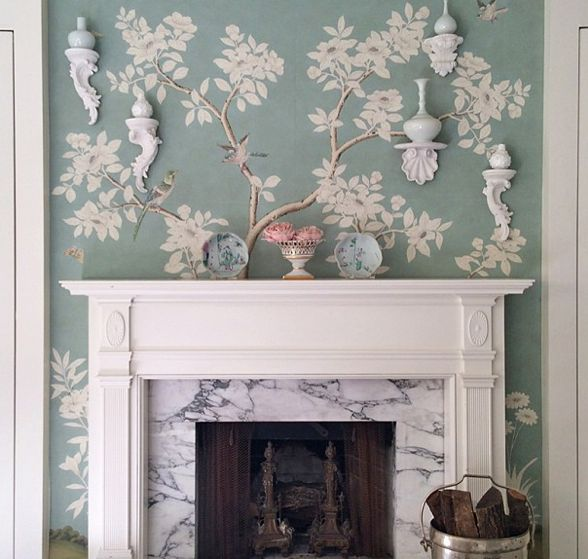7 Chinoiserie Wallpapers Youll Love