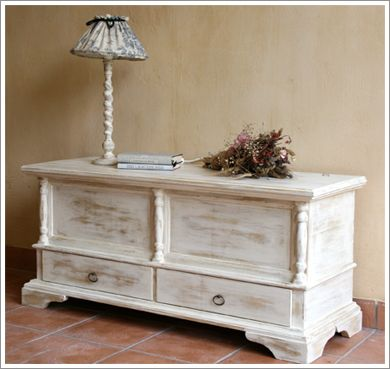 I will make over my cedar chest one day
