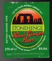 Stonehenge Ginger beer: a beer with ginger