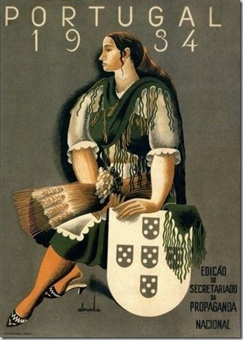 "alma-portuguesa: ""Portuguese vintage poster """