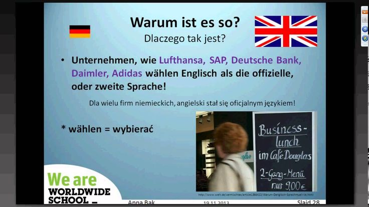 "Webinarium z języka niemieckiego: ""Vorstellungsgespräch czy Job interview"" - kariera po niemiecku."