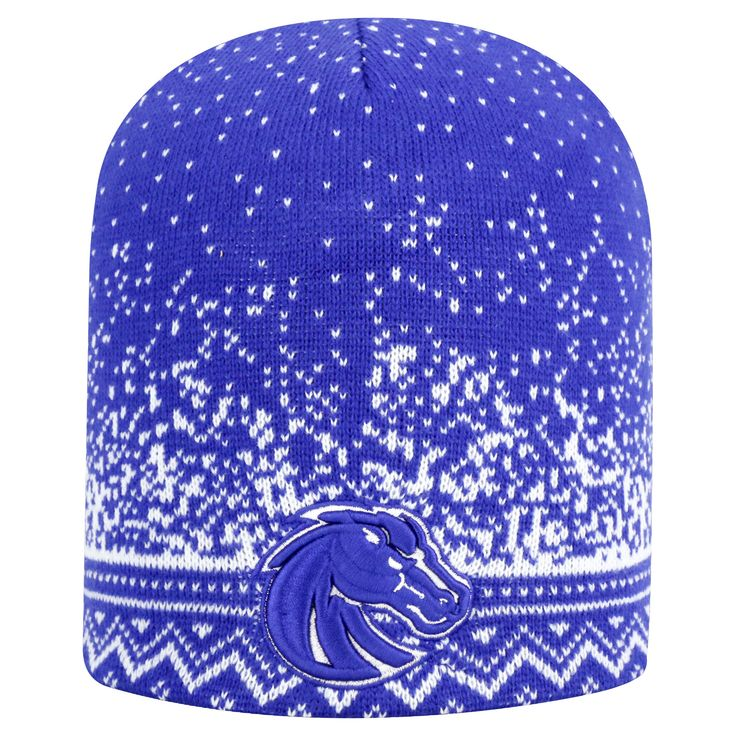 Beanies NCAA Boise State Broncos Team Color, Women's