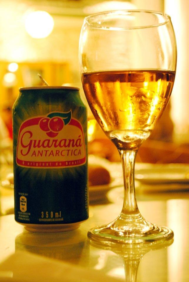 Guarana' Antartica... the best drink in Brazil!!