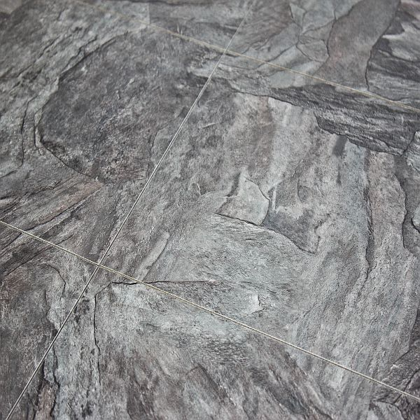 Alloc Commercial Stone Grey Slate Laminate Flooring