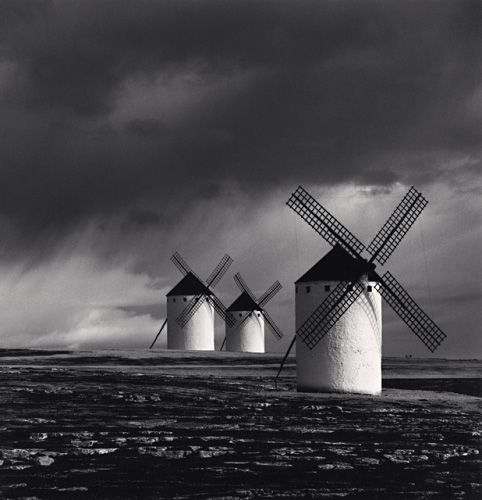 Something big.  Quixote's Giants, Study 1, Campo de Criptana, Spain, 1996