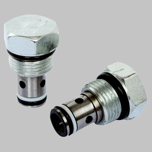 Flow Forces On Poppet Valves: Cartridge Check Valves CV-08-B Are Check Valves That Use A