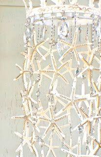 DIY Starfish Chandelier