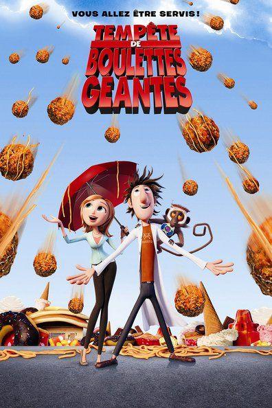 Tempête de boulettes géantes (2009) Regarder Tempête de boulettes géantes (2009) en ligne VF et VOSTFR. Synopsis: Flint Lockwood est inventeur. Jusqu'ici, toutes ses inventions bizarr...