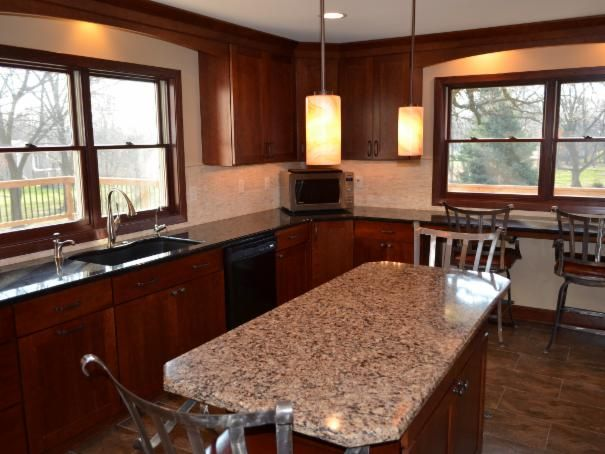 Photo of Maroon Dining Room project in Rockford, IL by LaLoggia Construction & Remodeling