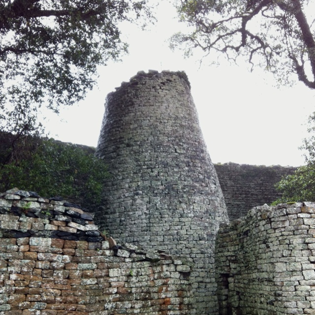 Great Zimbabwe ruins (stunning) ... Been there. Predates european settlers by thousands of years  ...