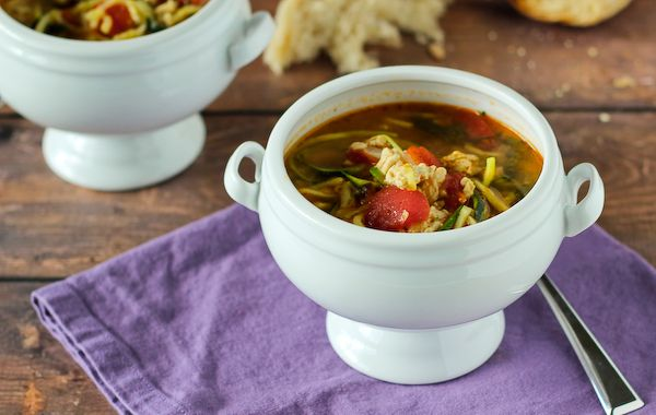 Turkey Soup with Zucchini Noodles {and some words of advice} - Rachel Cooks