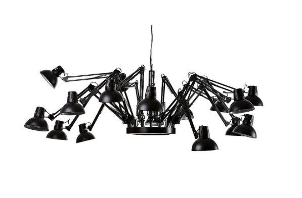 Reinvent your space with statement suspension lights. We love this Replica Ron Gillard Dear Indigo piece!