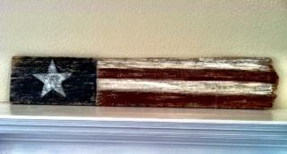 Patriotic Wood Craft Idea