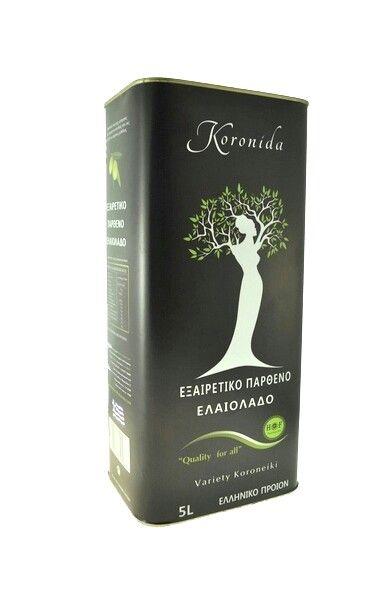 5 Litra extra olive oil kalamata