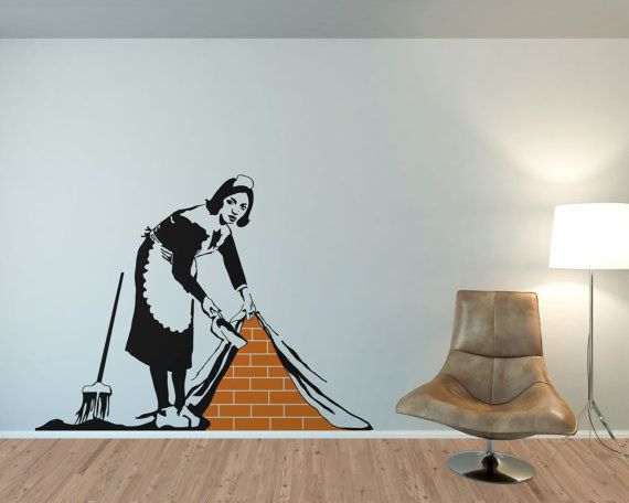 Best Banksy Wall Stickers Ideas On Pinterest Banksy Wall Art - Wall stickers decalswall decal wikipedia