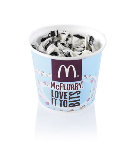 Lakritsi (Black Liquorice) - Finland | Community Post: 28 Unusual And Wonderful International McFlurry Flavors