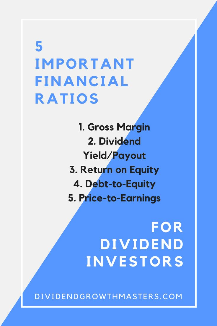 One of the basic skills needed to succeed as a dividend growth investor is the ability to analyze financials. A lot of people think you need to have an advanced math degree to be a