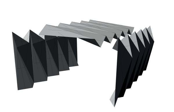 Folded Plate System Folding Architecture Concept Architecture Fold