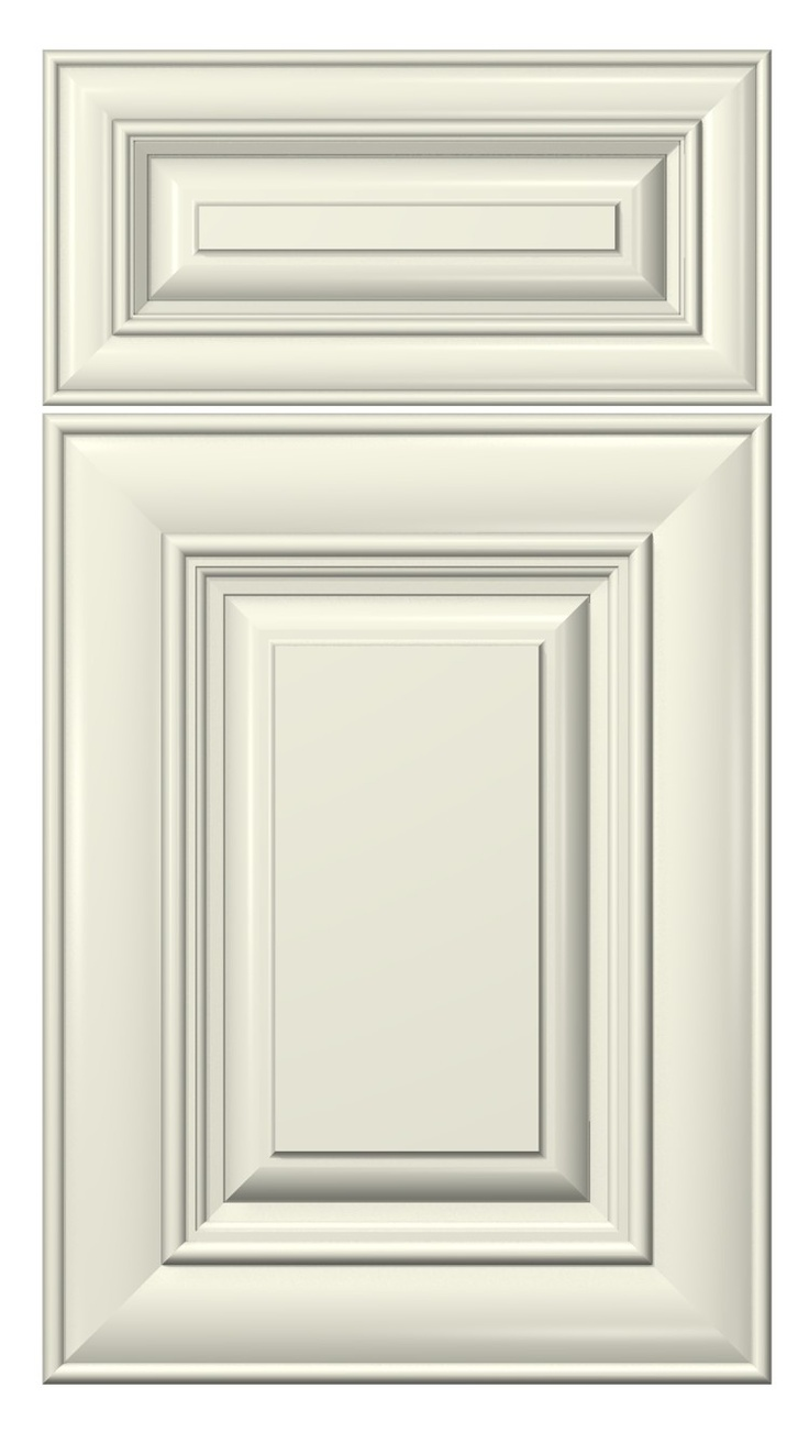 Cambridge Door Style Painted Antique White Kitchen