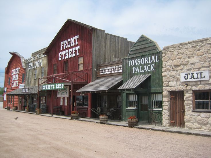 Front Street and Cowboy Museum, Ogallala, Nebraska.  I spent an amazing summer working at Front Street.  Waiting tables in the restaurant during the day, singing in the show at night, swimming at the lake on my days off.
