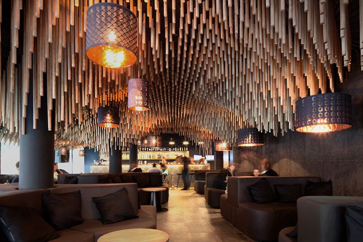 Hookah bar nargile by kman studio sofia bulgaria retail design blog c e i l i n g - Bar cuisine studio ...