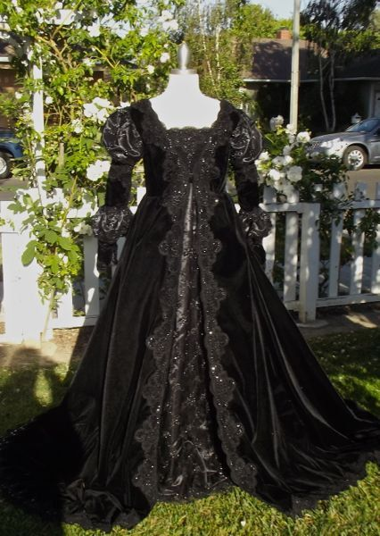 Ever After Gown    This is our version of the beautiful Ever After gown. This would make a gorgeous gothic wedding gown or upscale costume. This