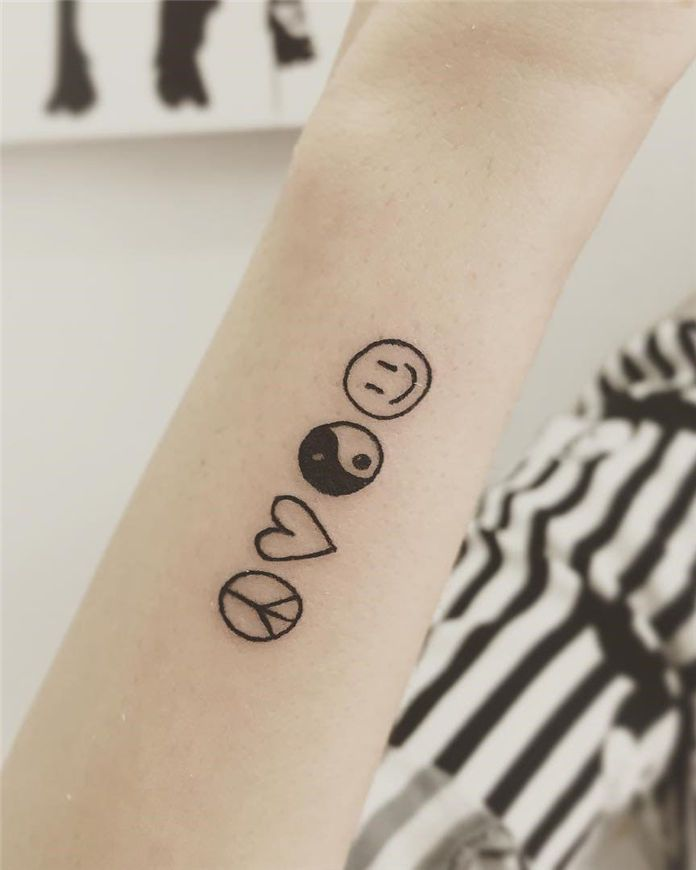 70 Simple Arm Small Tattoos Designs And Ideas For 2019 Small Tattoos Tattoo Designs Small Tattoo Designs