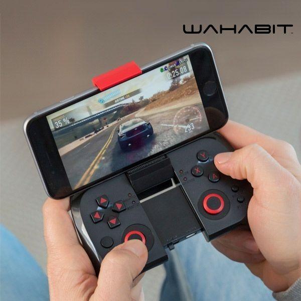 Wahabit BG-Pucket Bluetooth Gamepad for Smarttelefoner | Satelittservice tilbyr bla. HDTV, DVD, hjemmekino, parabol, data, satelittutstyr