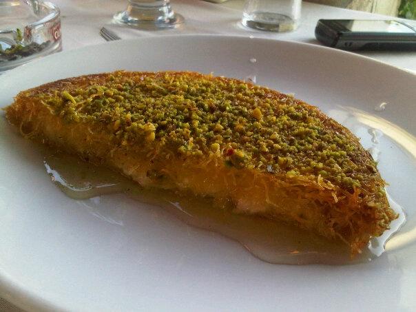 Künefe is the other dessert of Antakya.